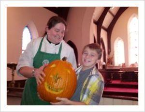 The infamous Pumpkin sermon.