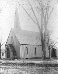 Trinity in the 1800's.